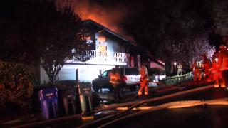 Elderly man, child killed in La Jolla house fire