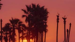 North Padre Island Sunset - Photo By: FB Coastal Bend Weather Watcher Luke Markert