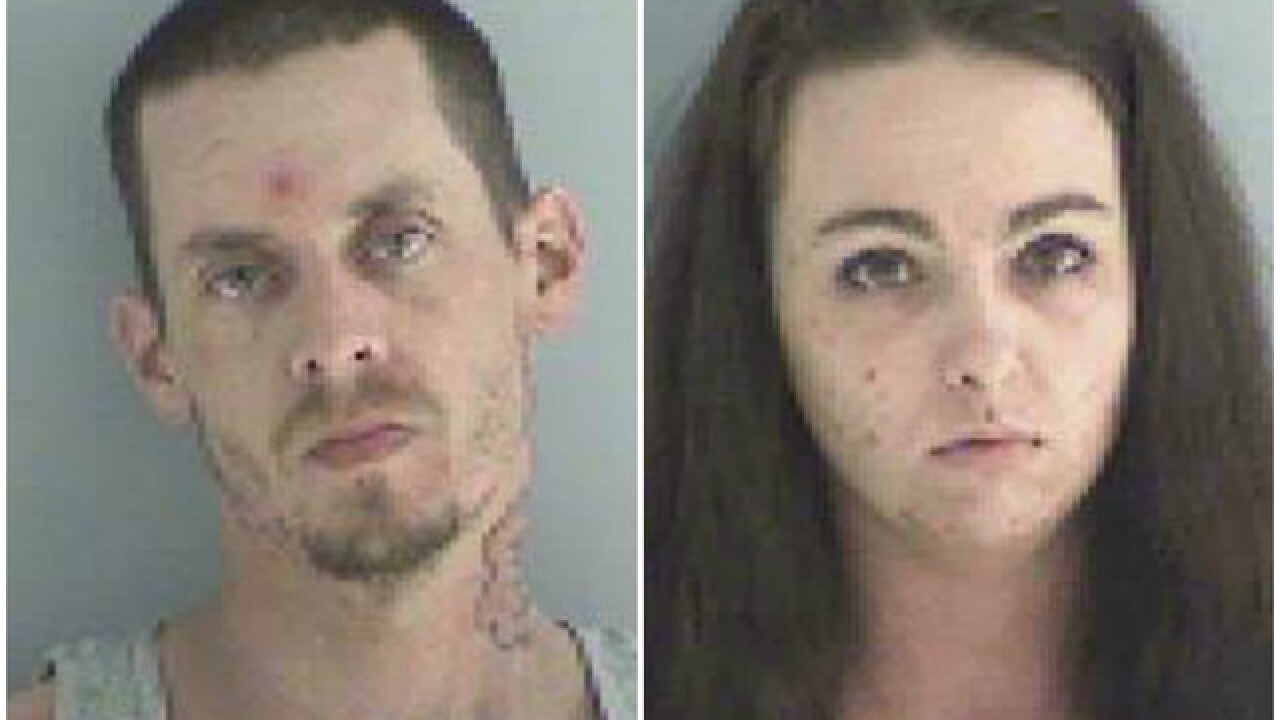 Deputies seize pound of meth, charge 2