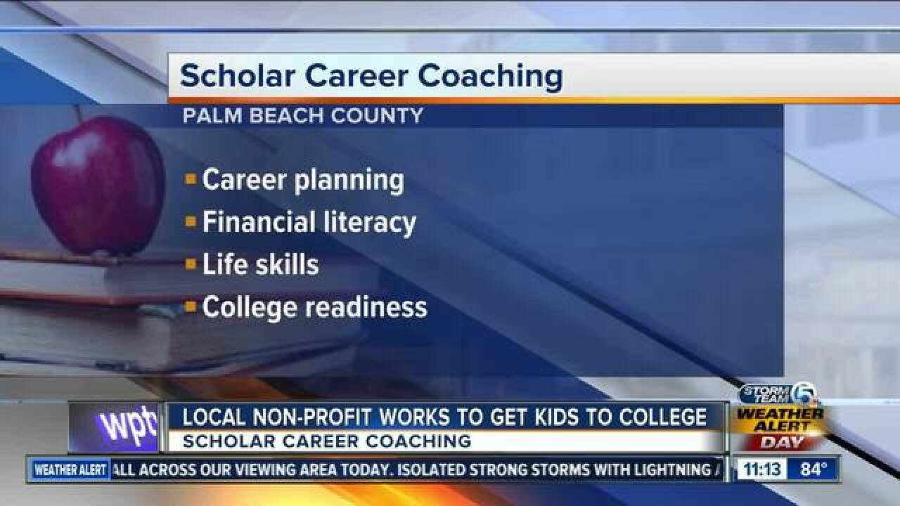 Scholar Career Coaching preparing students for college