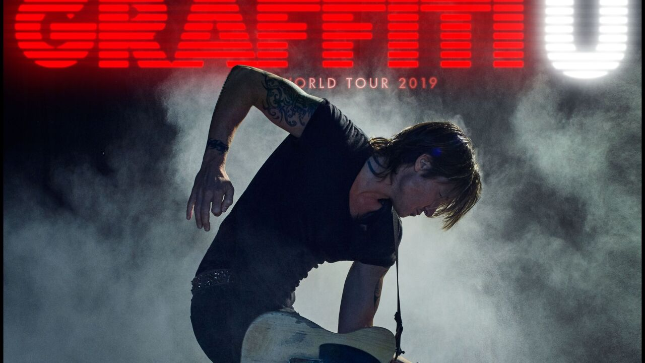 Keith Urban performing 2 nights at The Colosseum