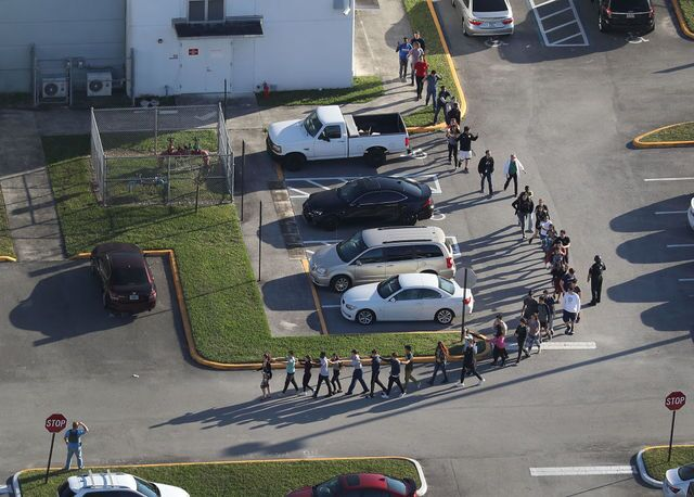 PHOTOS: At least 17 dead in Florida school mass shooting