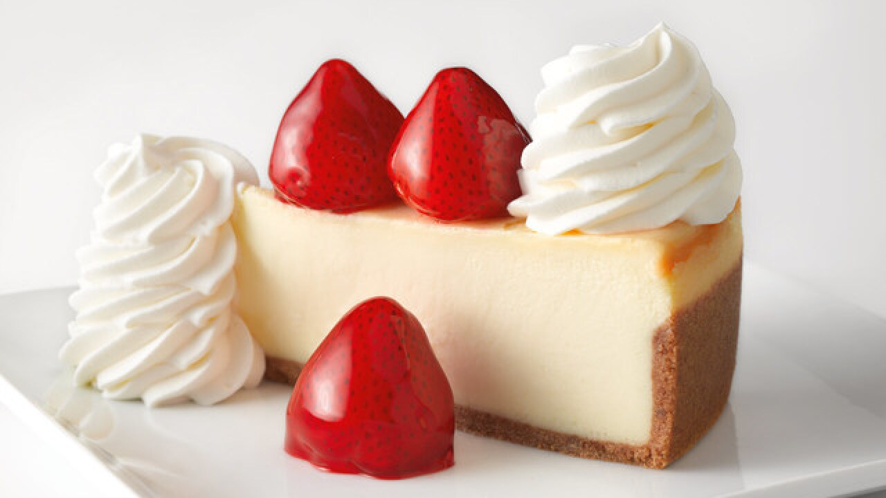 Let them eat cheesecake: Cheesecake Factory giving away 10k free slices