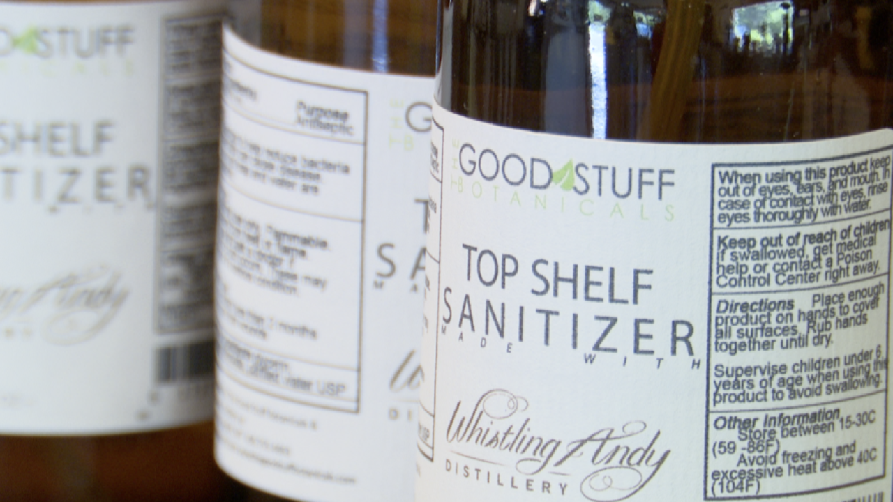 Good Stuff Hand Sanitizer