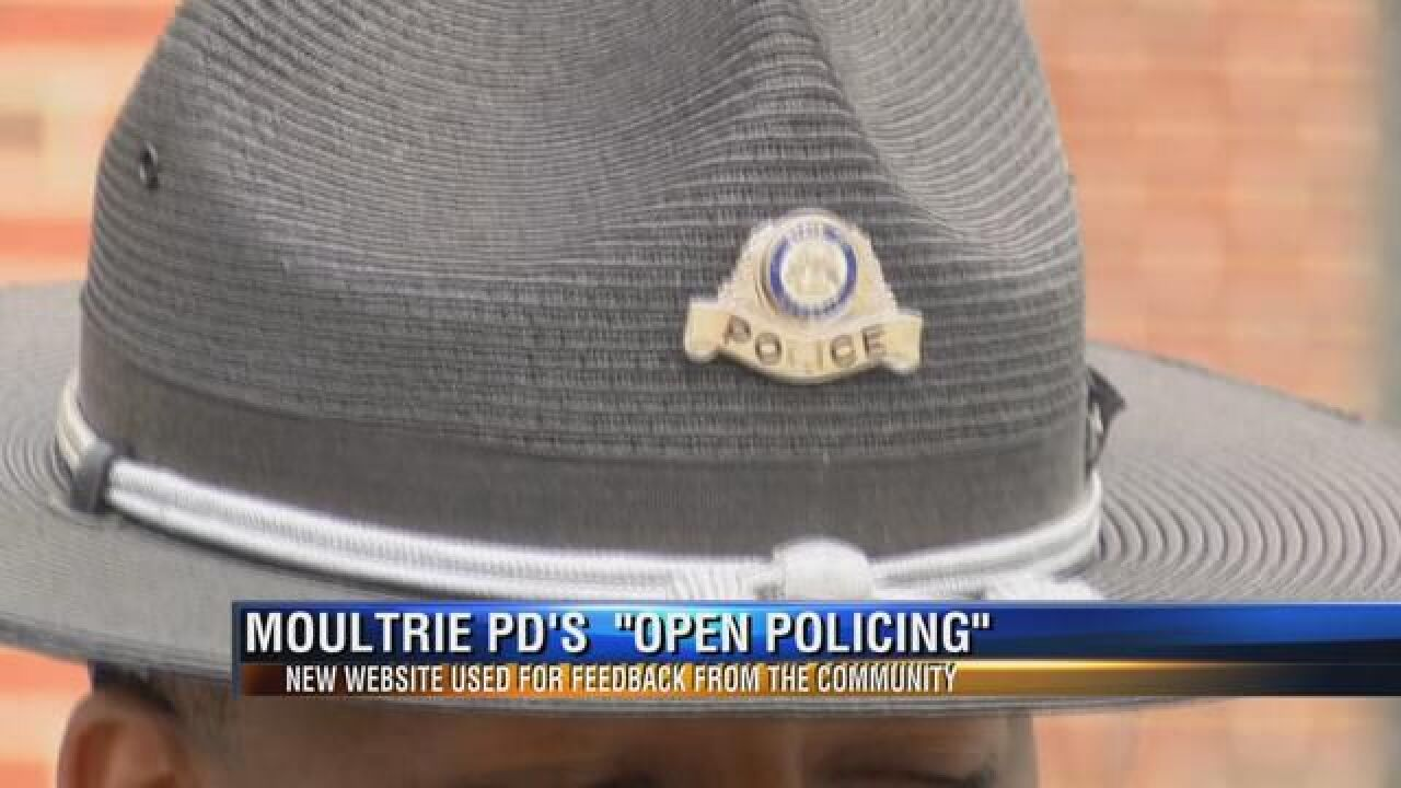 Moultrie Police Roll Out New Website for Community Feedback