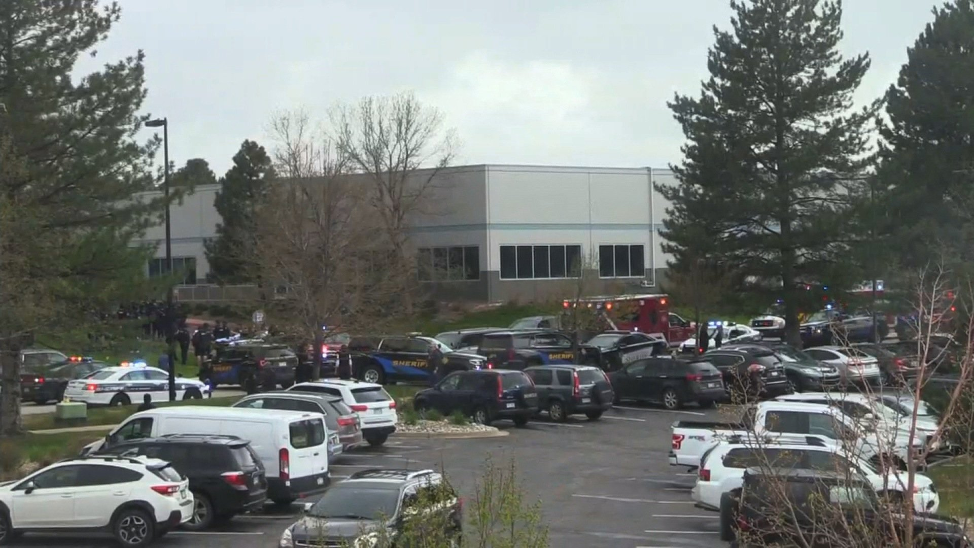 Photos: One student dead in school shooting in suburban Denver, 8 others injured