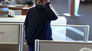Pima County Sheriff's deputies are looking for a man who robbed a bank in February.
