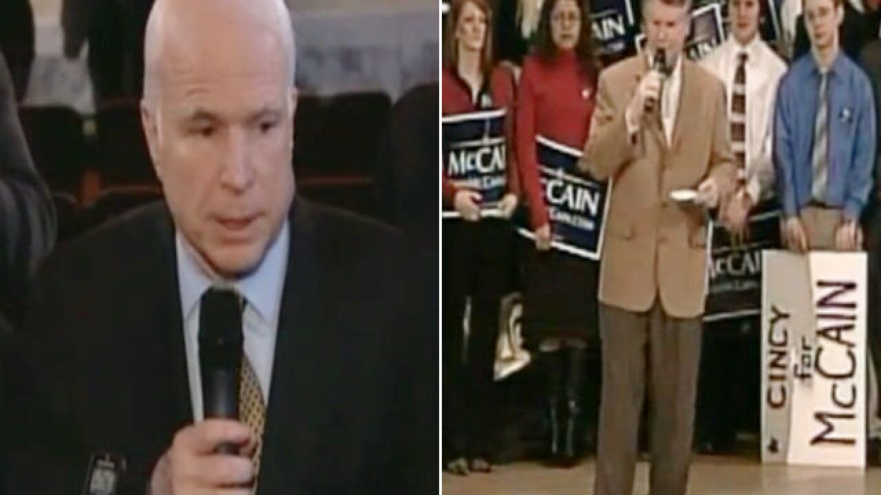 SEE Sen. McCain cut Bill Cunningham down to size