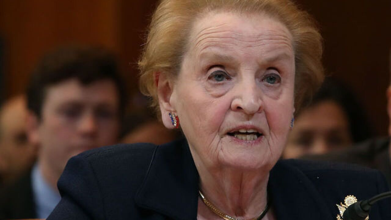 Madeleine Albright calls Trump 'most undemocratic president in modern American history'