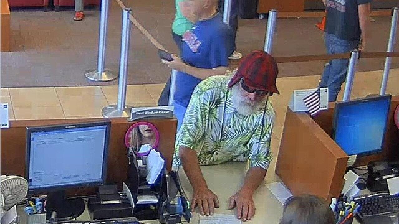 Bakersfield police investigating a bank robbery
