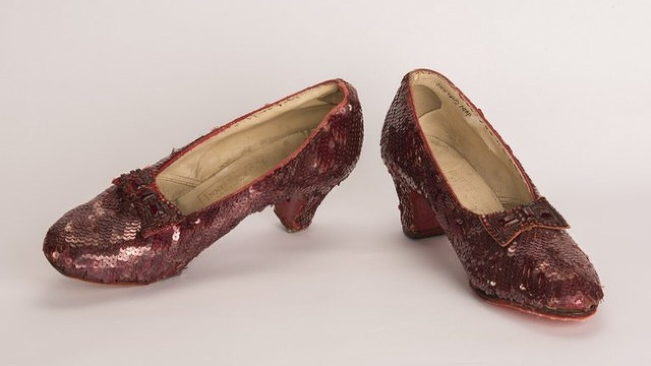 Stolen 'Wizard of Oz' shoes found decade later