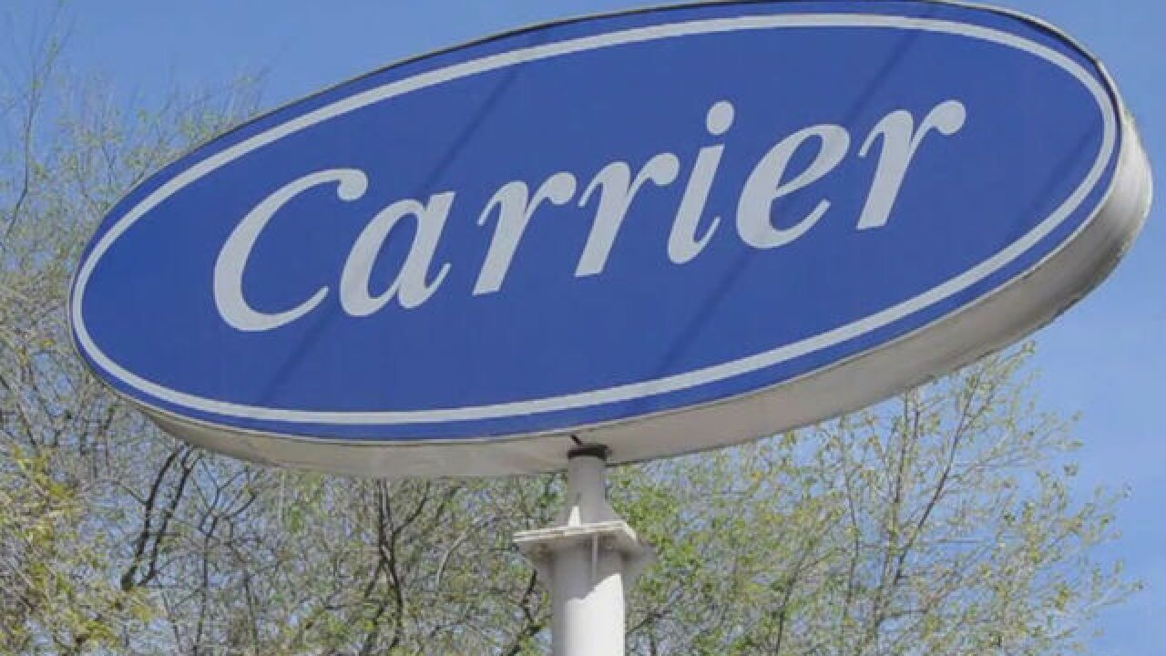 Carrier workers to recieve help finding new jobs