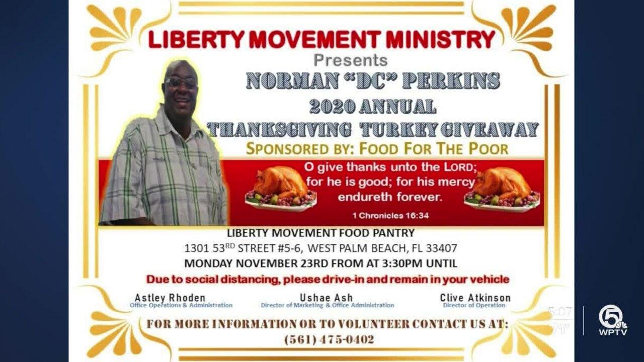Liberty Movement Ministry Turkey giveaway