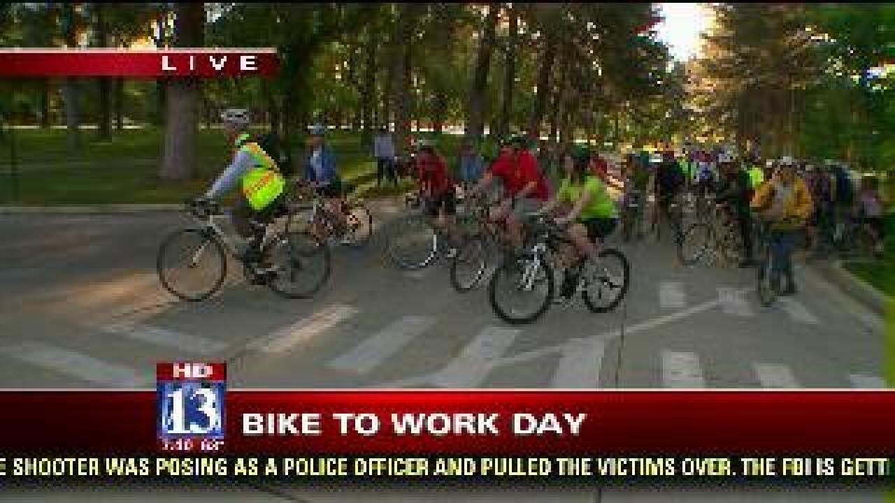 Mayor supports SLC Biking to Work Day