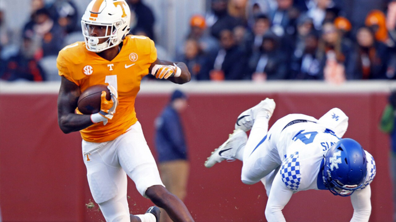 Vols continue home mastery of No. 12 Kentucky with 24-7 win