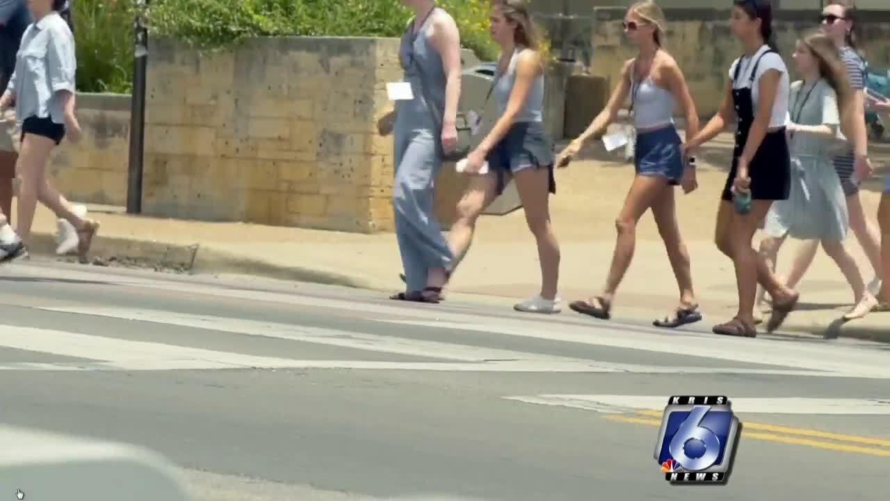 TxDOT Pedestrian Safety campaign