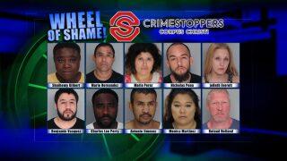 Wheel Of Shame: May 8th