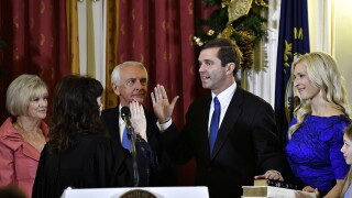 Democrat Andy Beshear sworn in as Kentucky governor