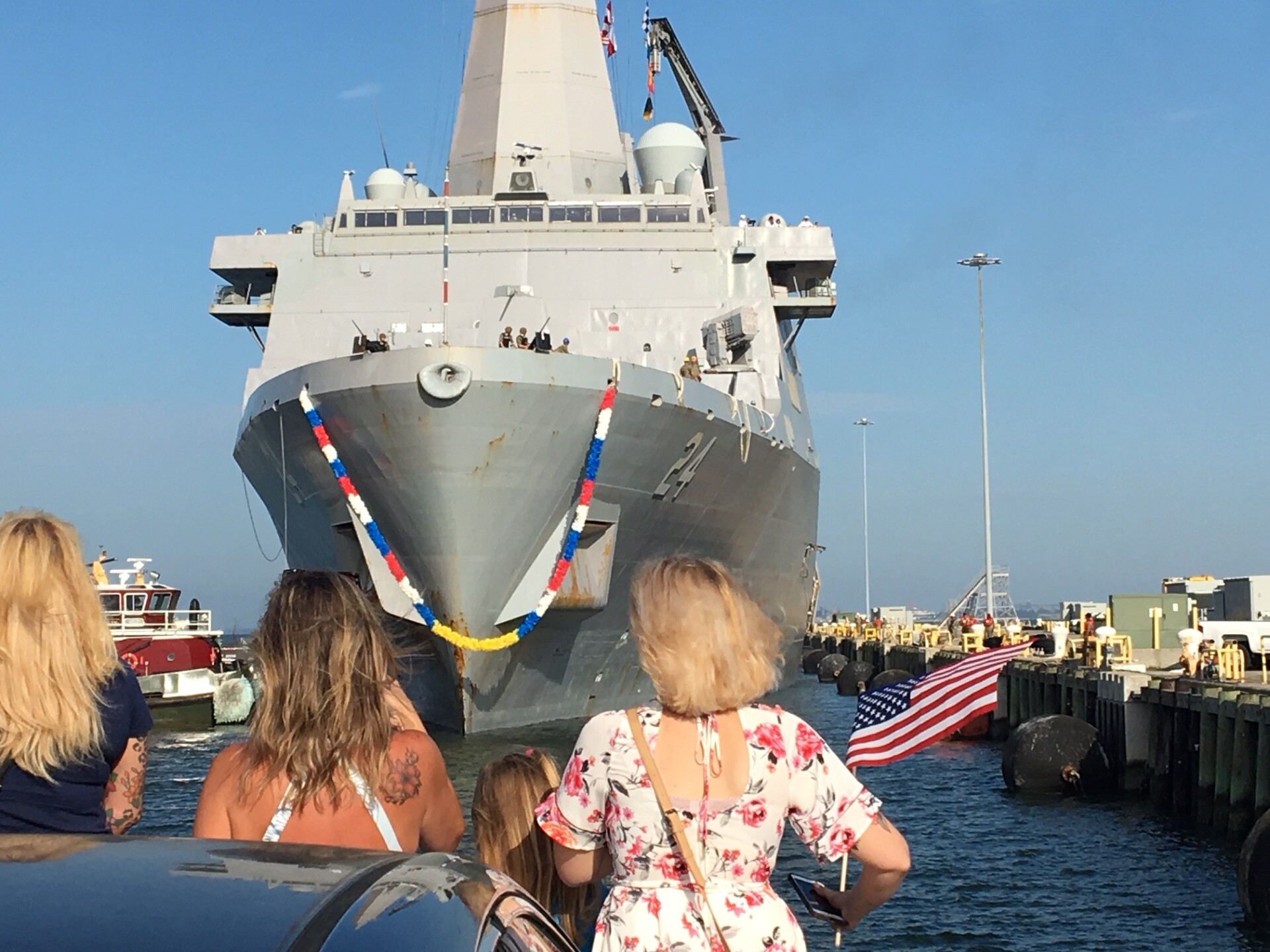 Photos: Watch: USS Kearsarge and USS Arlington return to Norfolk