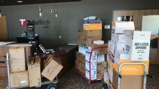 Tulsa Tech Donation to Hospitals Covid-19