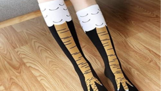 Socks Will Make You Look Like You Have Actual Chicken Legs