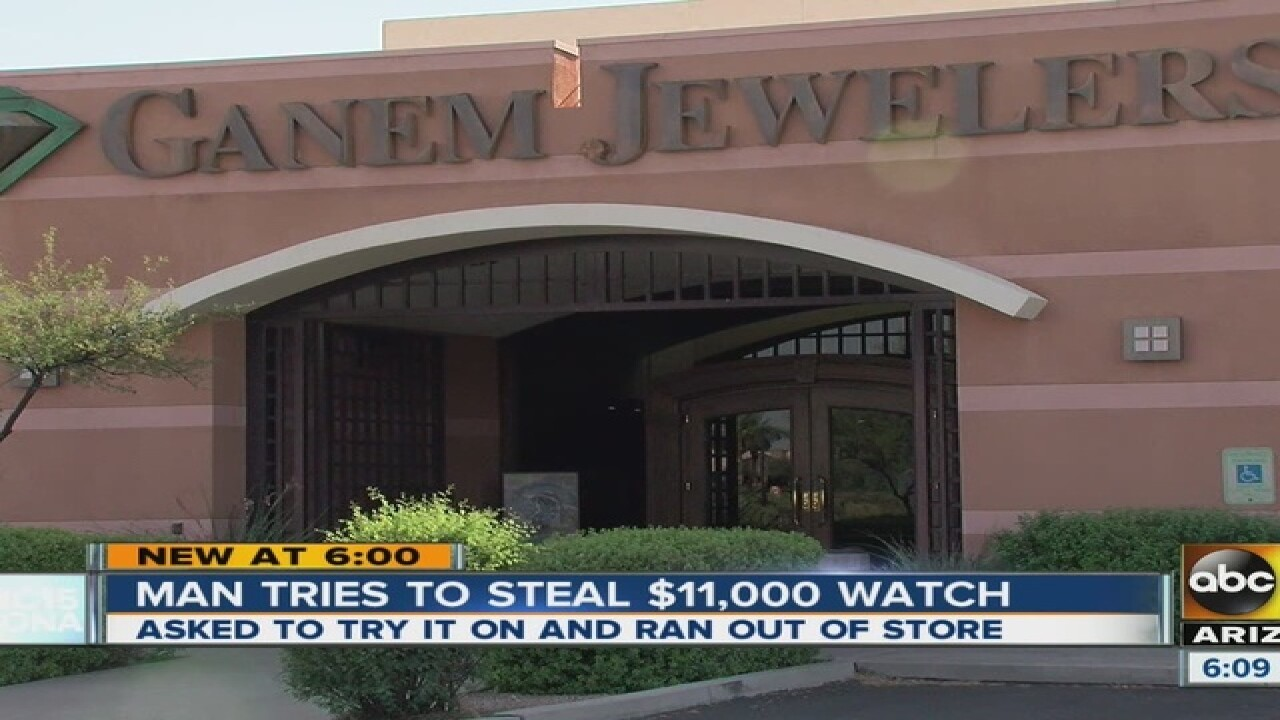 PD: Employees stop jewelry thief in Ahwatukee