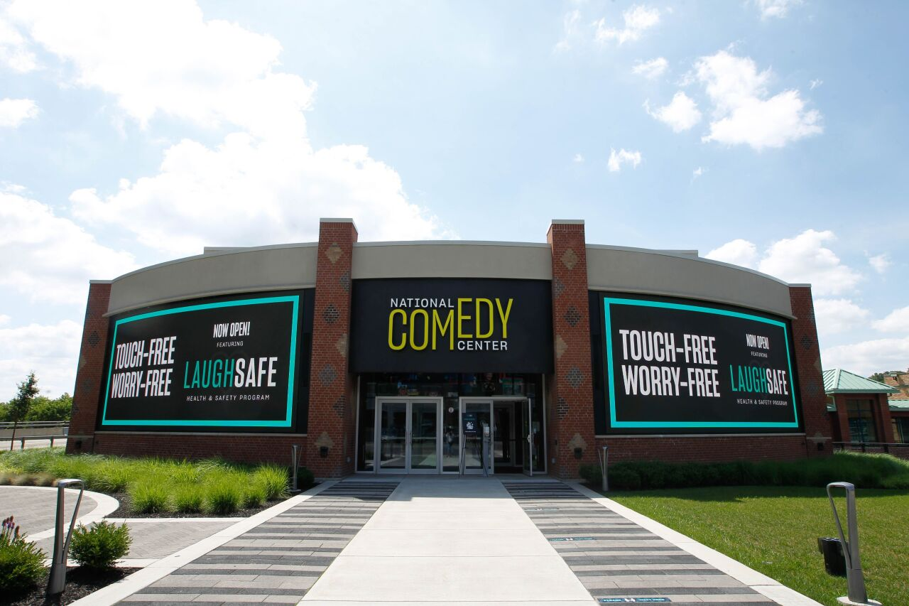National Comedy Center now touch-free to keep visitors safe