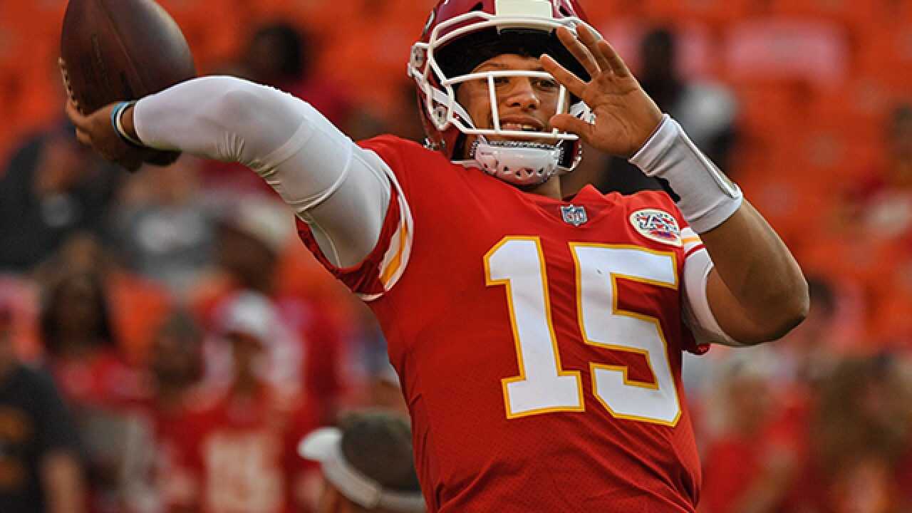 Patrick Mahomes' performance at Atlanta was encouraging even without long TD pass