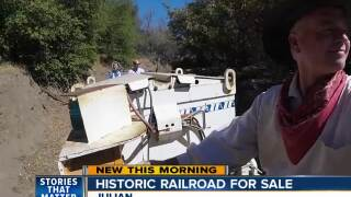 Historic railroad in Julian up for sale