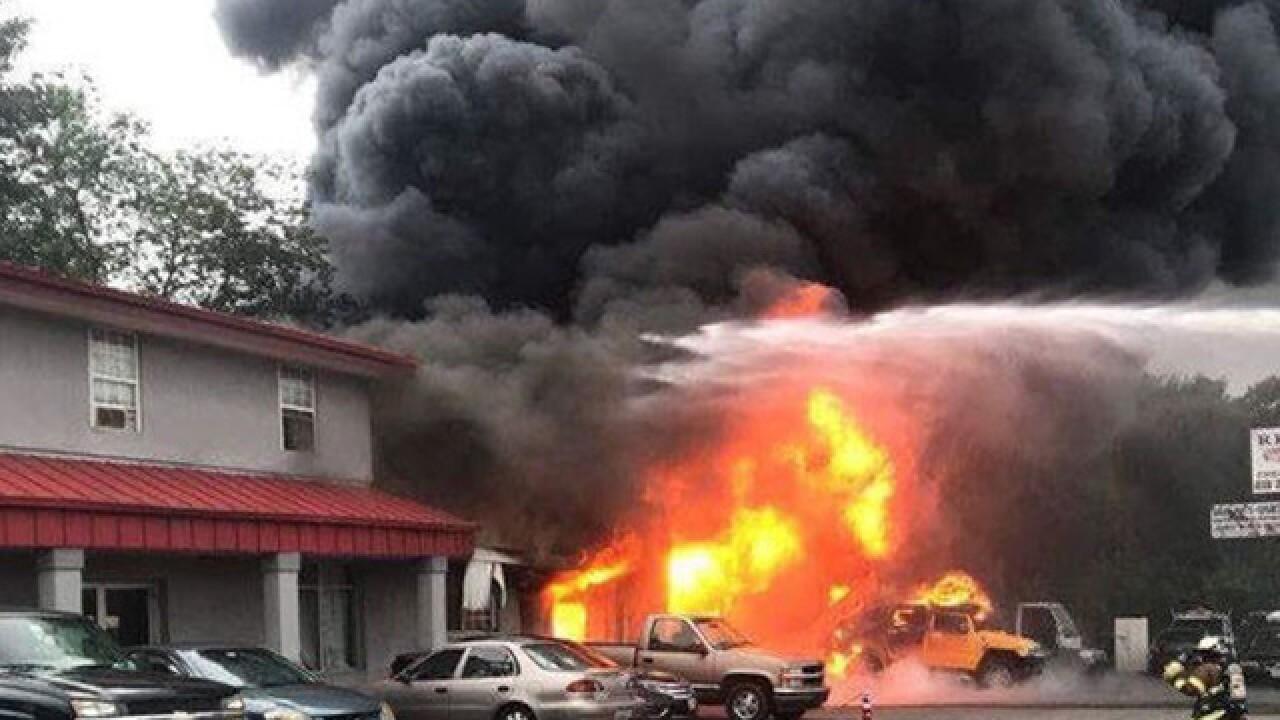 $200,000 in damages; fire under investigation