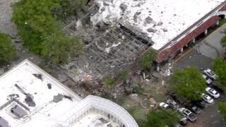 Police respond to explosion at Plantation, Florida fitness center
