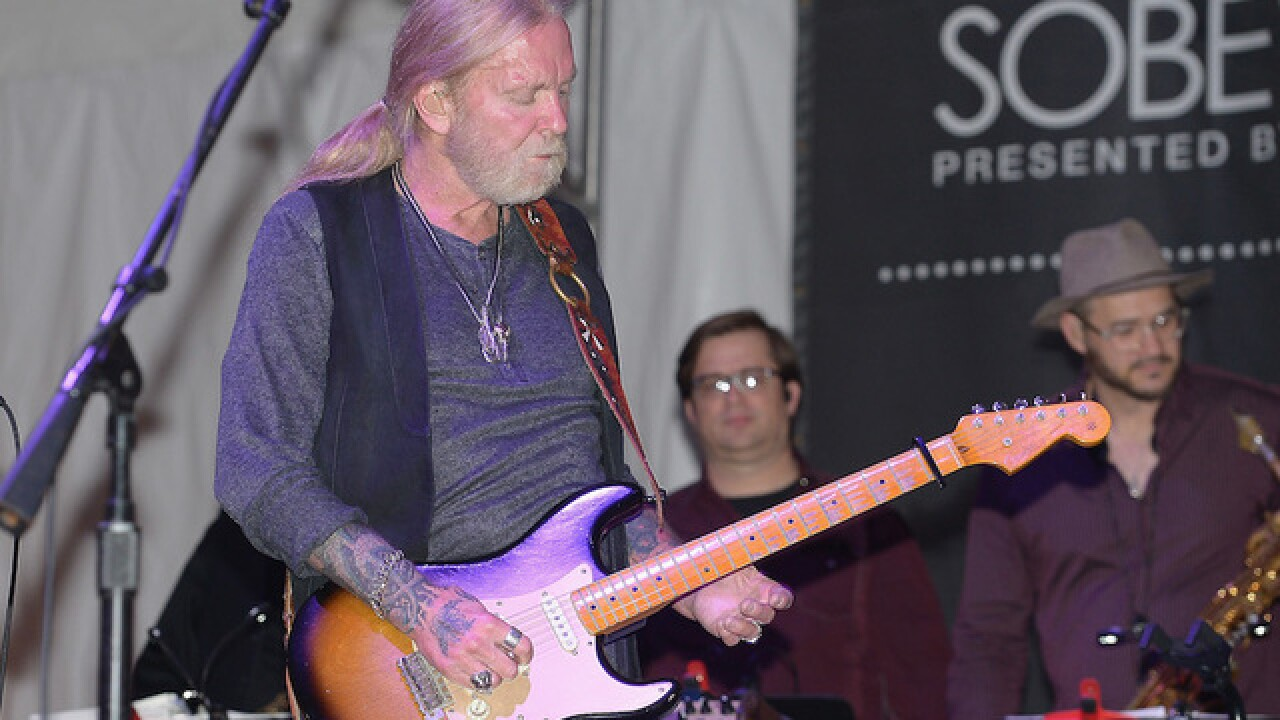 Publicist: Music legend Gregg Allman has died