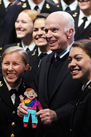 John McCain: 50 photos that capture the longtime senator's personality