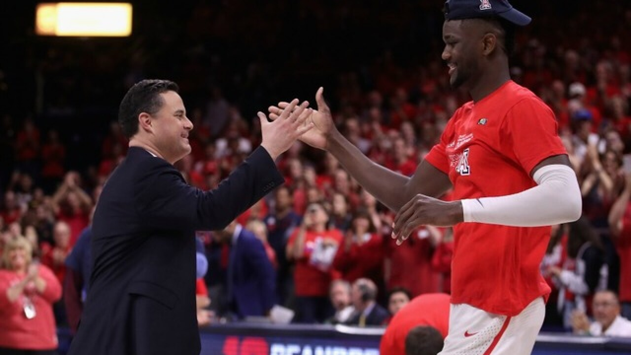 Sean Miller explains why Suns should draft 'monster' Deandre Ayton with No. 1 pick