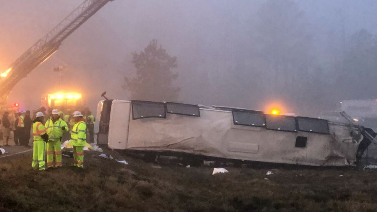 Passenger files $10 million lawsuit in fatal I-95 bus crash