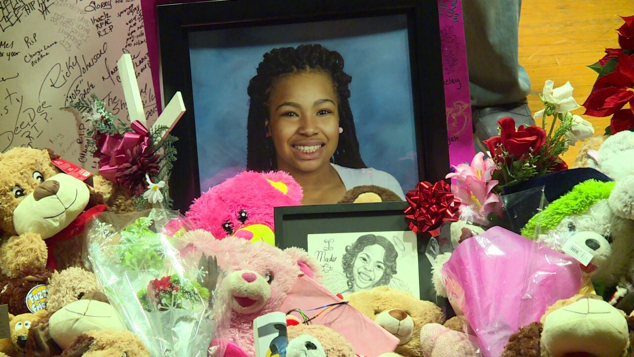 Family honors girl killed in Northside shoot out: 'We still miss her'