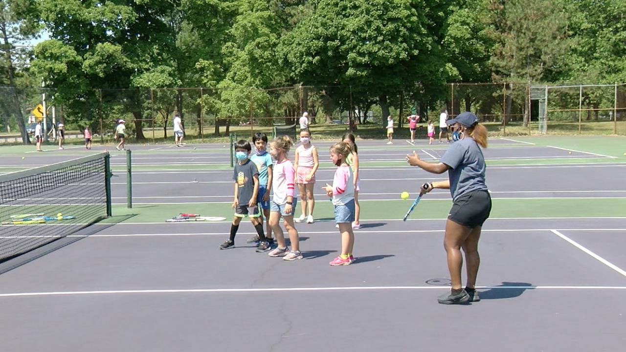 Buffalo PAL Tennis Camp 2020