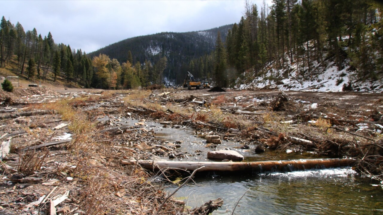 Mike Horse Mine cleanup stays on track, already improving the surrounding area