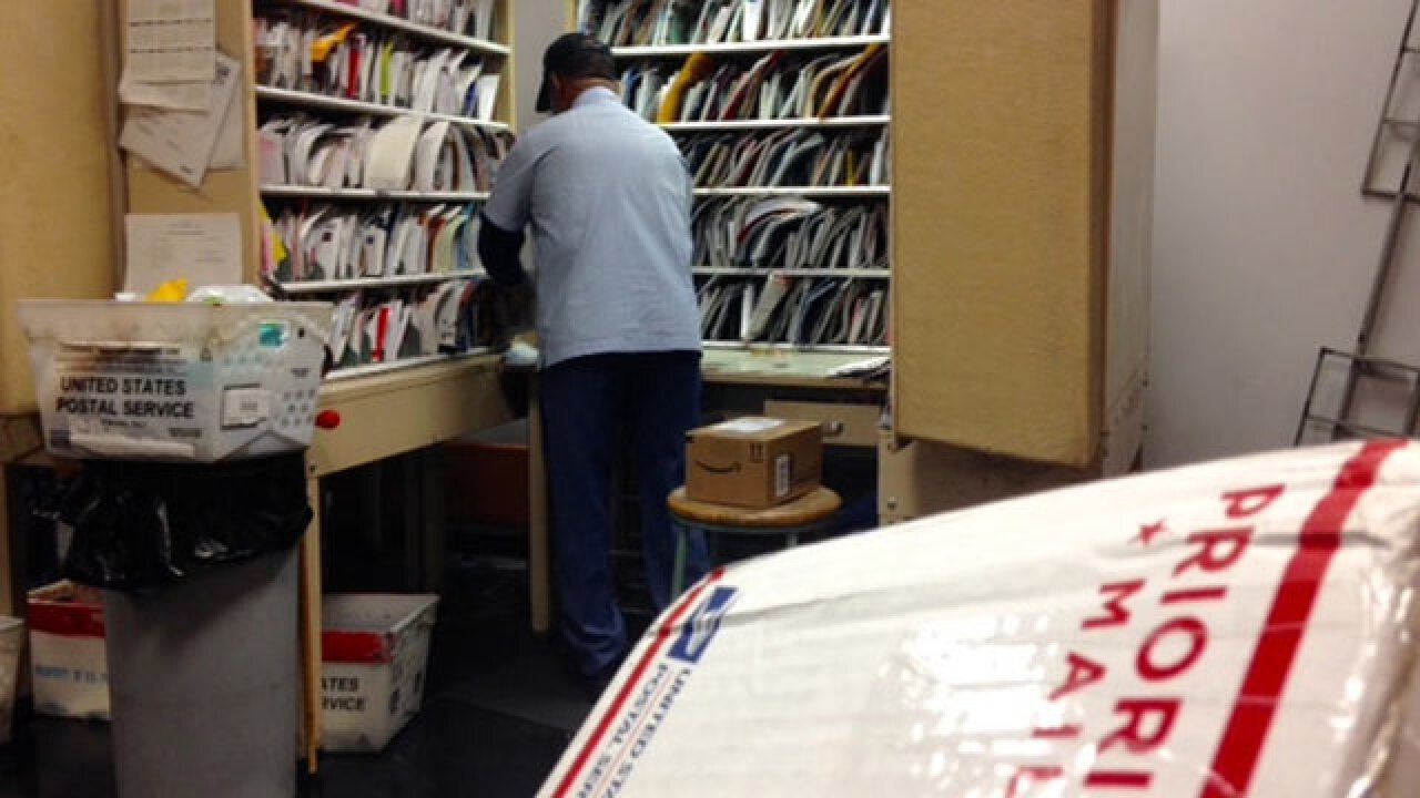 Postal Worker Honored For 50 Years Of Service