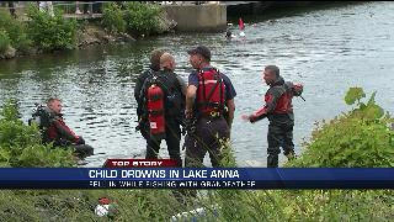Six-year-old Richmond girl drowns in Lake Anna while fishing
