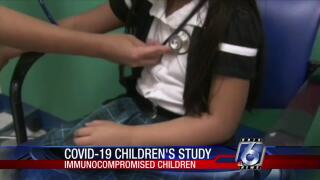 Doctors examining how COVID-19 affects kids with compromised immune levels