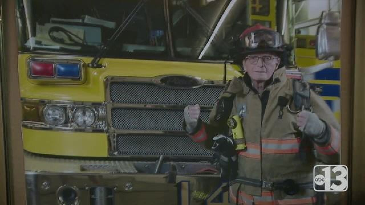 CCFD makes WWII vet honorary member