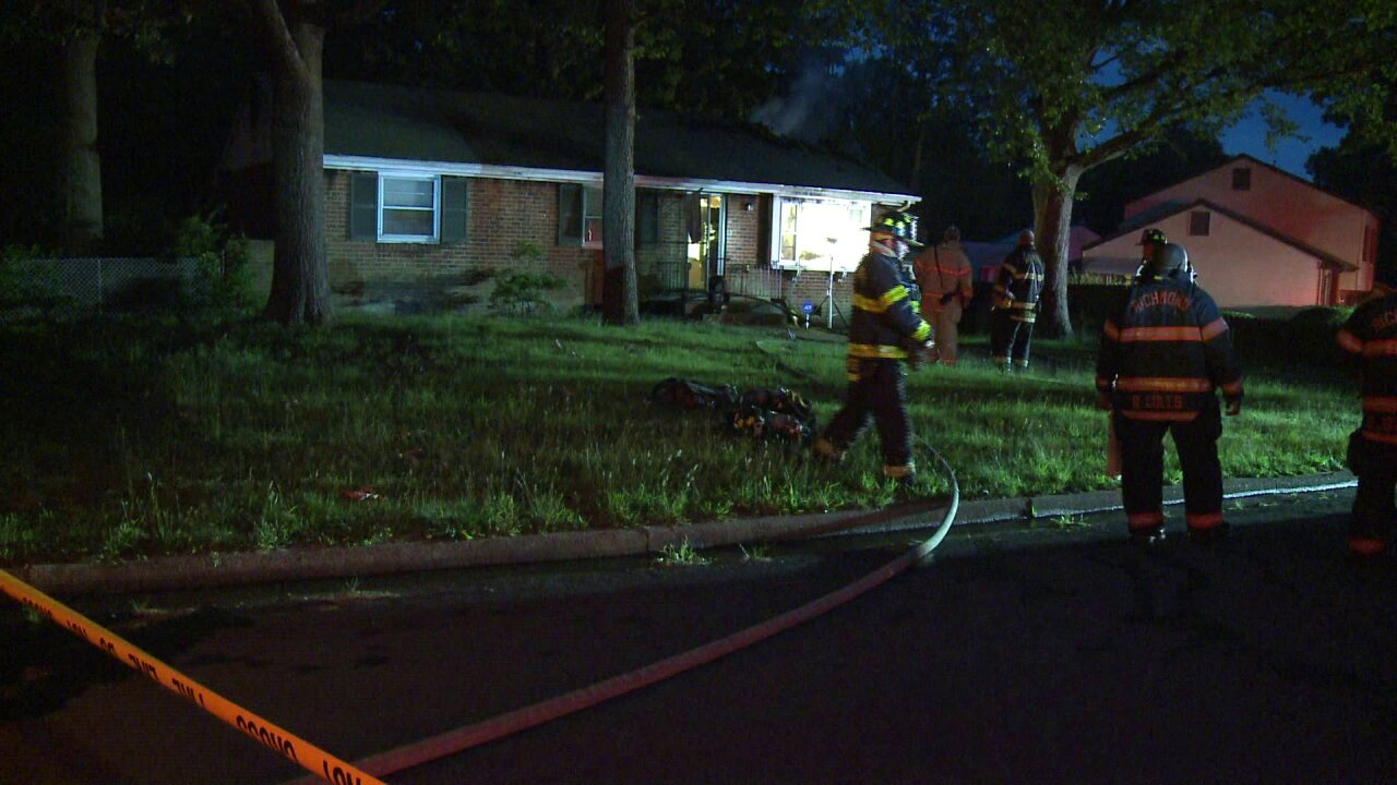 Heavy fire, smoke visible in Southside housefire