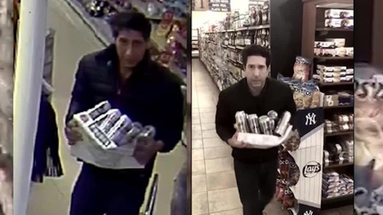 David Schwimmer responds after look-alike steals from restaurant in UK