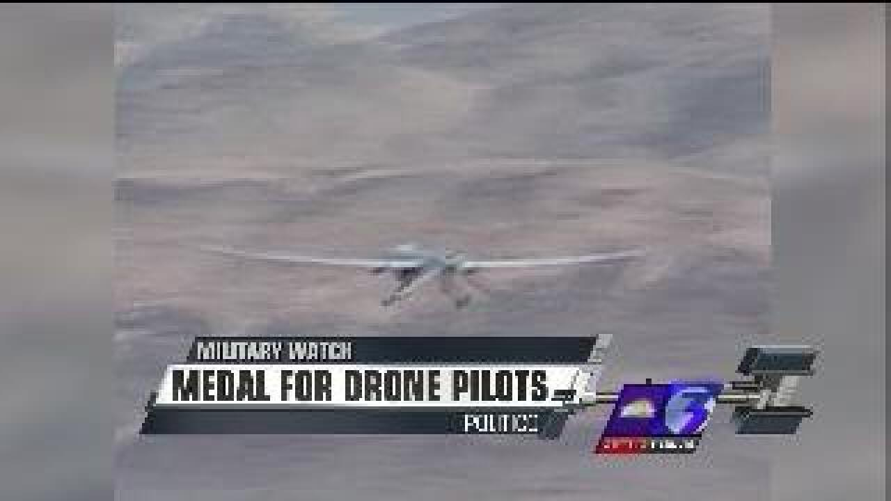 Pentagon looks for ways to honor drone pilots