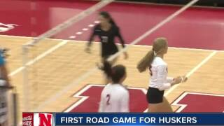 Nebraska volleyball has first road game of the season