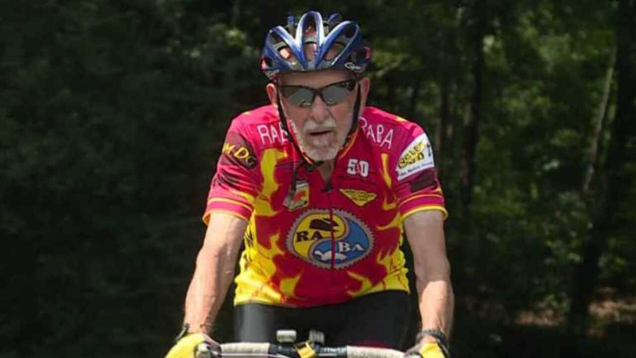 Meet the 85-year-old Virginia man who celebrates his birthday by cycling his age