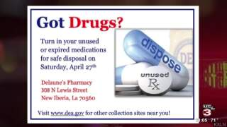 Iberia Crime Stoppers brings attention to abuse of prescription drugs