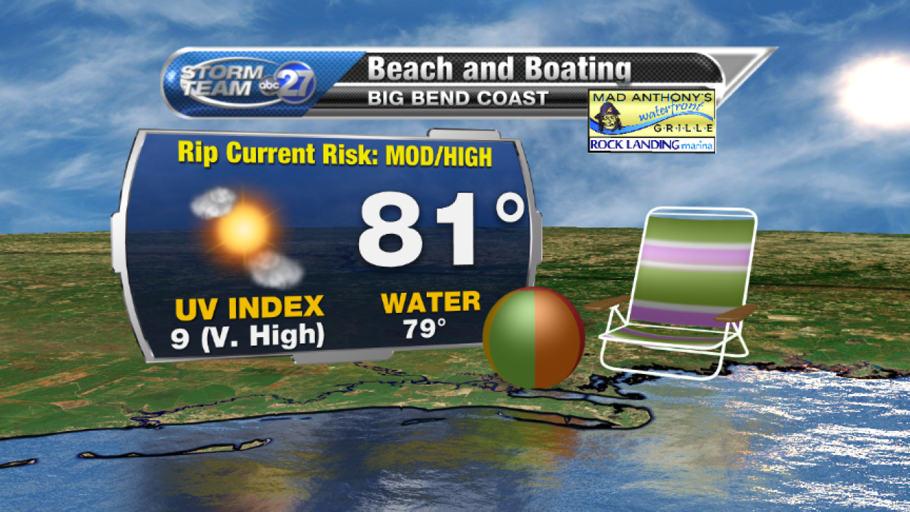 Beach and Boating forecast B (05/25/2017)
