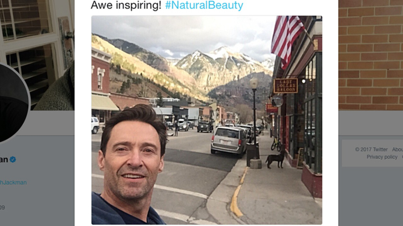 Hugh Jackman is in Colorado and people are losing their minds